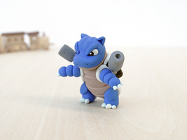 Blastoise Handcrafted by lyrese