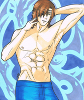 Shirtless Masamune by LimboTheLost