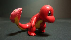 Pokemon - Red Charmander figure by stopmotionOSkun