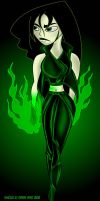 Shego's New Outfit DN Remix by SestrenNK