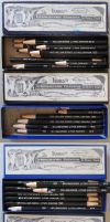 Korn's Lithographic Crayons No. 1 - 5 by pesim65