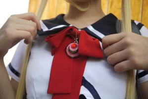 First sailor moon brooch by Glory-chan