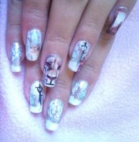 The Chronicles of Narnia nail art 2 by amanda04