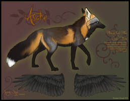 Asche - Cross Fox by winternacht