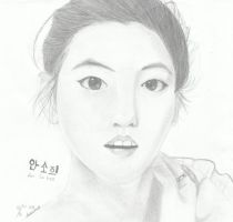 Ahn Sohee by Dhedebitha