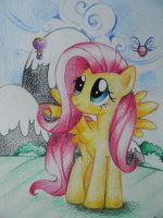 And again Fluttershy by deArV