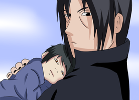 Itachi and Ayako by BladeOfValhalla
