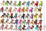 51 puppy adoptables! by MoBAdopts