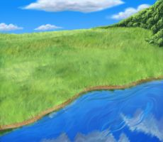 BG_Field and water by DarkDragon774
