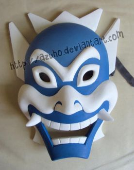 Blue Spirit Mask by Azuho