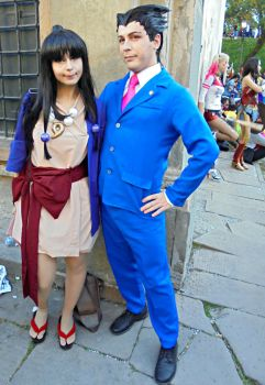 Ace Attorney cosplay by Lynus-the-Porcupine