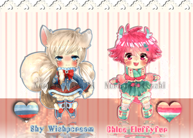 .:Adoptable Fluffy Set:. CLOSED by Noririn-Hayashi