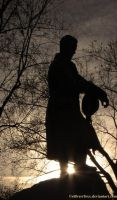 Canadian Soldier Silhouette by sillverrfoxx