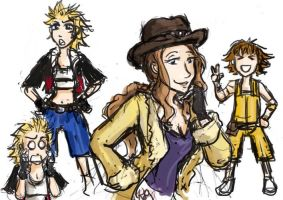 genderbend final fantasy 8 pt3 by Jassikorandoms