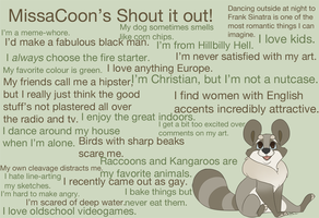 Shout it out! by CreepyCoon
