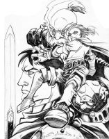 Battle Chasers by MasonEasley