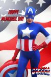 Happy Memorial Day from Captain America Joanna by thejoannamendez