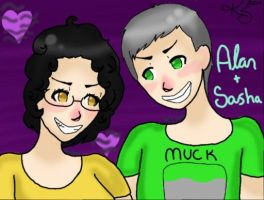 AT: Alan And Sasha by kittykat237
