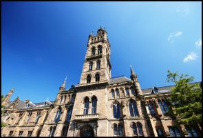 University of Glasgow by Fjordian