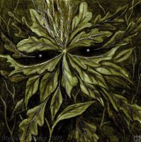 Face of Leaves by DarkLiminality