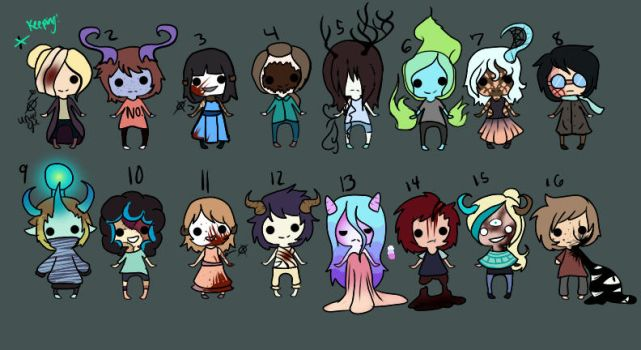 Smol adopts: C  L  O  S  E  D by Dexter306