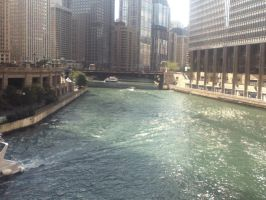 Chicago River! by Artistic-Resonance
