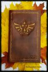 Triforce Leather Journal  by CoreyChiev