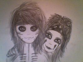 Ashley Purdy and Christian Coma by TheBlackBullet
