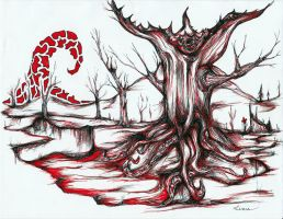 Grotesque - The Red 7 by graffitica