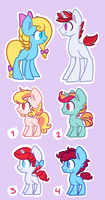 Breadable adopts OPEN [0/4] by Looji