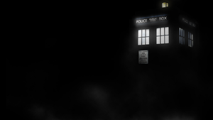 Tardis In A Dark Place by DeathKX