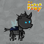 Paper Pony Changling by MLP-Scribbles