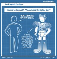 Accidental Fanboy by schizmatic