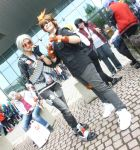 KH Reborn! Vongola Gear -  Goku and Tsuna 2 by hikari-marik