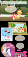 Ask Honest Applejack 38 by bronybyexception
