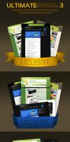 Web Mockup Pack- 3 by MockupMania
