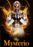 Rey Mysterio Poster by BiggertMedia