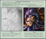 Character Development Khan Draconis new version by Ghostwalker2061
