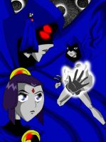Raven Collage by PUFFYsanjo