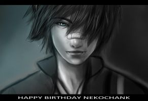 Happy Birthday NeKoChAnK by Kikanemimi