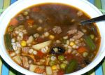 Vegetable beef barley soup by FooD-luvR