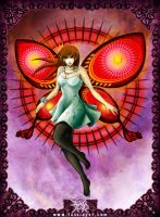 Butterfly Girl by FASSLAYER