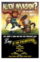 F-00 Fighters countercover by Luis-Guerrero