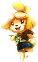 Isabelle by DragginCat