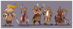 DnD Party : XV (maybe) by hangemhigh13