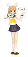 [MMD] Sailor Rin + DL (Fixed) by KokoneAkita
