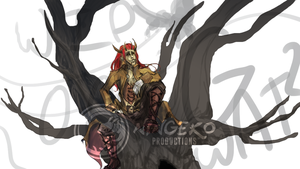 WIP Playing with the crows edited-2 by Ningeko16