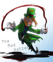Mad Hatter's tea time by pink-ninja