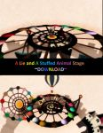 MMD STAGE ~ A Lie and A Stuffed Animal Stage by RaiShooter