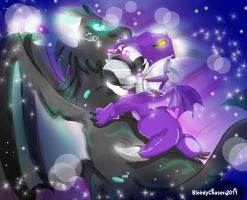 Arion love Dragon by BloodyChaser